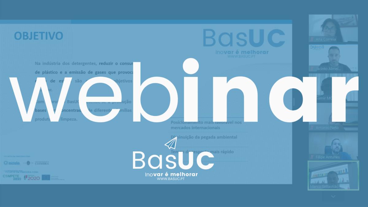 webinar – BasUC, Soluções de Concentrados